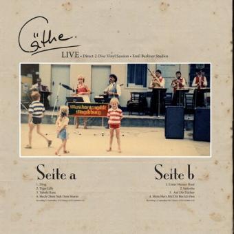 Cäthe Live - direct 2 disc Vinyl Session