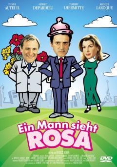 Ein Mann sieht Rosa