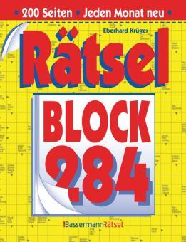 Rätselblock 284 (5 Exemplare à 2,99 €)