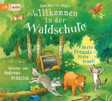 Willkommen in der Waldschule – Beste Freunde – Pfote drauf!